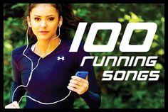 100 running songs.