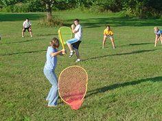 backyard baseball game 4 net set with pro strike zone and wiffle