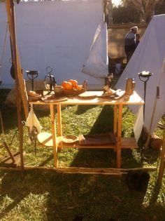 Our viking encampment