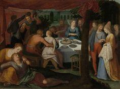 Otto van Veen (Flemish, 1556–1629 - A Nocturnal Banquet, 1600 - 1613. Rijksmuseum