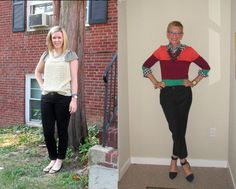 What We Wore: Black Jeans   Two Take on Style