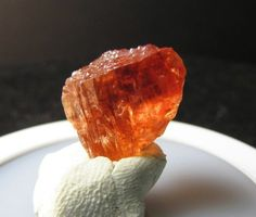 Video 10.80ct Golden Imperial Topaz  Rare Mineral Display Specimen Rough Gem Imperial Topaz, Minerals, Gems, Display, Billboard, Rhinestones, Gemstones, Mineral, Emerald