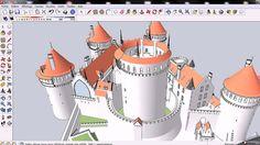 https://flic.kr/p/eF7obr | Coucy le Château 3D - 2012 | sketchup.google.com/3dwarehouse/details?mid=511ffab0d3378...