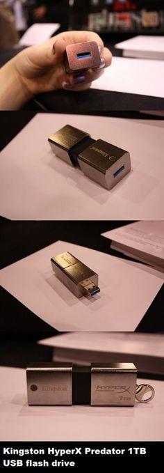 Kingston Unveils 1TB DataTraveler USB Drive. Portable storage for your pr0n.