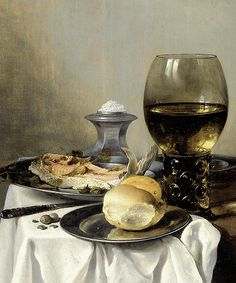 Pieter Claesz - Still Life with a Salt Shaker [1640]