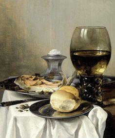 Pieter Claesz - Still Life with a Salt Shaker [1640]