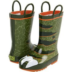Western Chief Kids - Dinosaur Boot (Infant/Toddler/Youth)