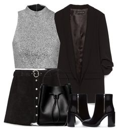 """""""Untitled #3928"""" by london-wanderlust ❤ liked on Polyvore featuring Zara, Topshop, 3.1 Phillip Lim and Forever 21"""