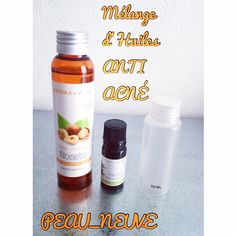 Mélange d'huiles anti acn… – Lotion Make Beauty, Beauty Box, Acne Oil, Diy Skin Care, Body Care, Lotion, Im Not Perfect, Beauty Hacks, Glow