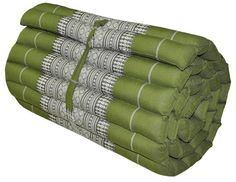 camping roll up thai mattress meditation yoga organic kapok100 filled