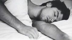 Wow! The person I got this from actually found a piece of Sebastian Stan sleeping! No, stangirls aren't stalkers!
