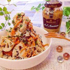 Japanese Recipes, Japanese Food, Pasta Salad, Salad Recipes, Salads, Lunch Box, Iron, Cooking, Ethnic Recipes