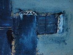 Antonio http://#Basso. Space Occupancy http://#13 (detail). Acrylic, fabrics, burlap on canvas...