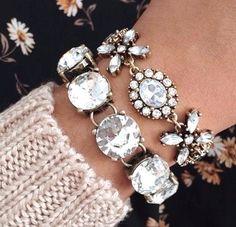 pearls bracelets, Modern and stylish bangles http://www.justtrendygirls.com/modern-and-stylish-bangles/