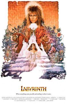 Labyrinth David Bowie Jennifer Connelly Movie Poster 11x17 – BananaRoad