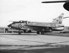226 OCU, Lightning F.1A XM173 at RAF Gaydon, 16 Sep 1966