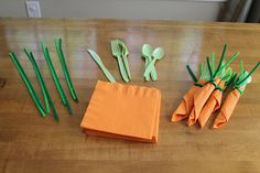 cute idea for easter lunch