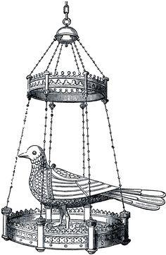 Gothic Dove Fixture Image