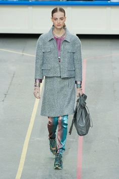 2014FW/CHANEL GREY/PINK/METARIC