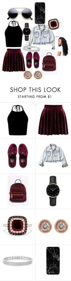 """Classy but sassy"" by reign2005 ❤ liked on Polyvore featuring Puma, Hollister Co., ROSEFIELD, Effy Jewelry, Ron Hami and Anne Sisteron"