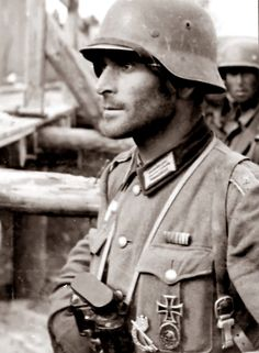 Hauptmann Friedrich Winkler at Stalingrad. He was one  of the 91,000 odd German soldiers who surrendered in 1943. He later died at the POW camp at Beketovka
