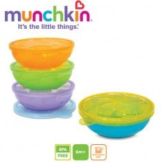 Munchkin 4 Pack Stack A Bowls - LooqiLoo Snack Containers, Gerber Baby, Mother And Baby, Head Start, Having A Baby, Baby Feeding, Food Storage, Baby Food Recipes, Snacks