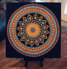 Mandala World has members. Mandala World is a a place for you to showcase your art your talent and your passion for dot art. Mandala Canvas, Mandala Dots, Mandala Pattern, Mandala Design, Stencil Painting On Walls, Dot Art Painting, Stone Painting, Mandalas Drawing, Painting Art