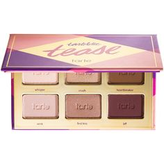 tarte Tartelette Tease (£15) ❤ liked on Polyvore featuring beauty products, makeup, eye makeup, eyeshadow, beauty, cosmetics, eye shadow, tarte eyeshadow, tarte and palette eyeshadow