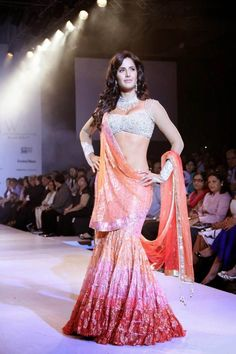 Katrina Kaif walks the ramp for Nakshatra diamond. #Bollywood #Fashion #Style #Beauty