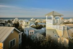 Seaside, Florida - though Destin, Sandestin are my fav...seaside is also awesome!  This would be a great place to have a beach house! (maybe when I'm 100 yrs old...) beeennn heerrreeee!!!