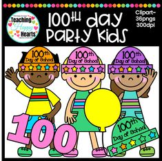100th Day Clipart fo