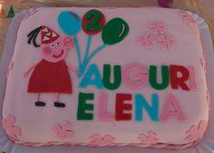 Peppa Pig cake  (Elena's 2nd birthday)