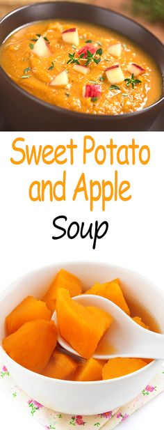 Sweet Potato and Apple Soup With Cheese and Walnuts – Secret Diet Food