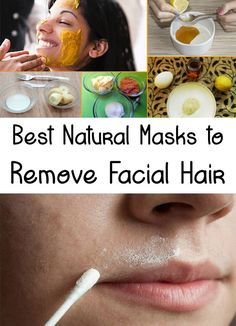 You are tired to remove facial hair with different painful methods? Find out how to get rid of facial hair without pain, using homemade �mask!