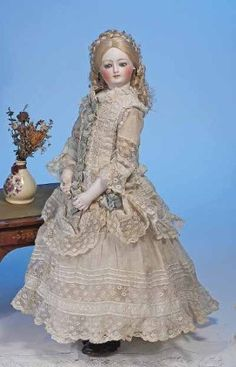 Antique French Fashion Doll...
