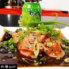 #Repost @guistf with @repostapp. ・・・ Ceviche #tbt #takanori #foodporn #japanese #japanesefood #love