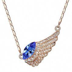 TAOTAOHAS Damen Anhänger Halskette mit Crystallized Swarovski Elements Kristall Sapphire 18K 750 Rotgold, Flug Tränen TAOTAOHAS-Crystal http://www.amazon.de/dp/B00CJUHBM4/ref=cm_sw_r_pi_dp_Qv3Xub06QVGE9