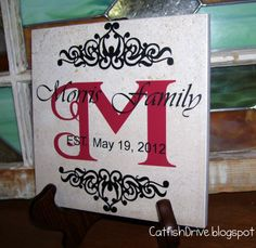 Vinyl Project Ideas | Do you have weddings to go to this summer? What are some gifts you ...