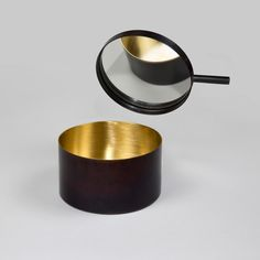 Patinated Brass Jewellery Box