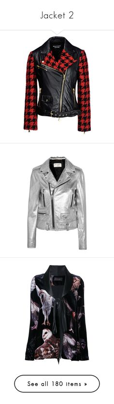 """""""Jacket 2"""" by erihiro ❤ liked on Polyvore featuring outerwear, jackets, coats, leather jacket, black, genuine leather jackets, leather zip jacket, zip jacket, boutique moschino and quilted jacket"""