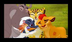 "The Lion Guard | ""Fuli's New Family"" - Group hug! -"