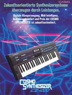 CASIO CZ-1000 Anzeige 1985