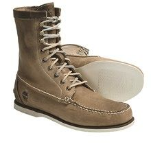 """Timberland Heritage Handsewn Boots - Leather, 8"""" (For Men) in Taupe - Closeouts"""