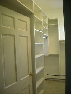 Walk-in Closet (left side wall)