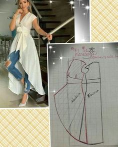 Great sewing hacks you absolutely need to know! These sewing recommendations and living hacks can make your life easier. A number of them are so amazingly easy you just won't think you have not thought of yourself! Dress Sewing Patterns, Sewing Patterns Free, Clothing Patterns, Bag Patterns, Skirt Patterns, Pattern Sewing, Pattern Cutting, Blouse Patterns, Fashion Sewing