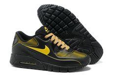 watch 44f38 135a6 Heren AIR MAX 90 Current M014 Zwart Geel  MODELNIKE 00428  - €76.99   Nike  ...