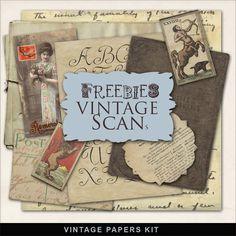 CLIP ART :: TONS of FREE Vintage Papers, Sheet Music, Typography, Handwriting and more @ Far Far Hill :: farfarhill.com | #farfarhill