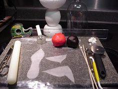 ~ Los maestros de azúcar ~ Decoración de Pasteles y Sugar Art Tutoriales: Cómo hacer un Gumpaste alta zapatos de tacón