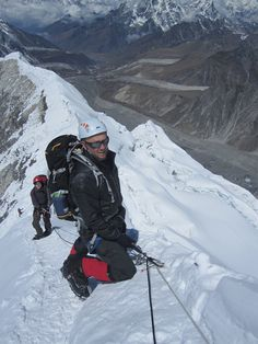 Pause before the summit