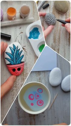Make these hand painted rocks using this step by step rock painting tutorial. Easy pebble painting ideas with Artistro paint pens. Create stunning art for The Kindness Rocks Project, custom mugs and other personalized gifts for your loved ones. Rock Painting Patterns, Rock Painting Ideas Easy, Rock Painting Designs, Pebble Painting, Pebble Art, Stone Painting, Stone Crafts, Rock Crafts, Hand Painted Rocks